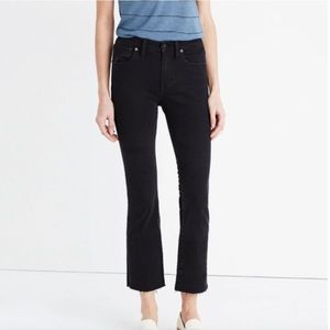 Madewell Cali Demi Boot Jeans Size 26 DR